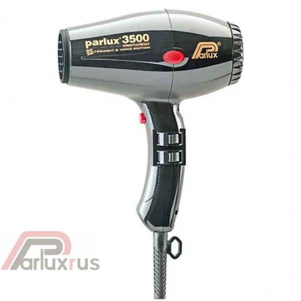 Профессиональный фен Parlux 3500 Supercompact 0901-3500 ion black