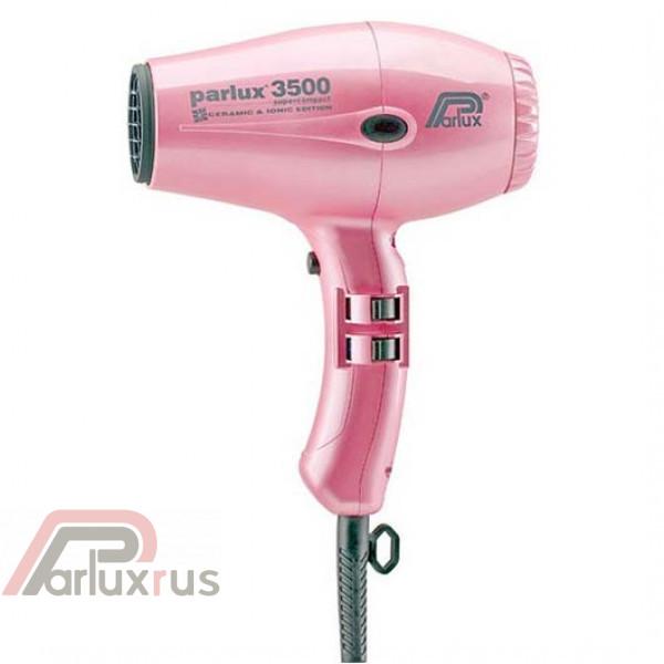 Профессиональный фен Parlux 3500 Supercompact 0901-3500 ion pink