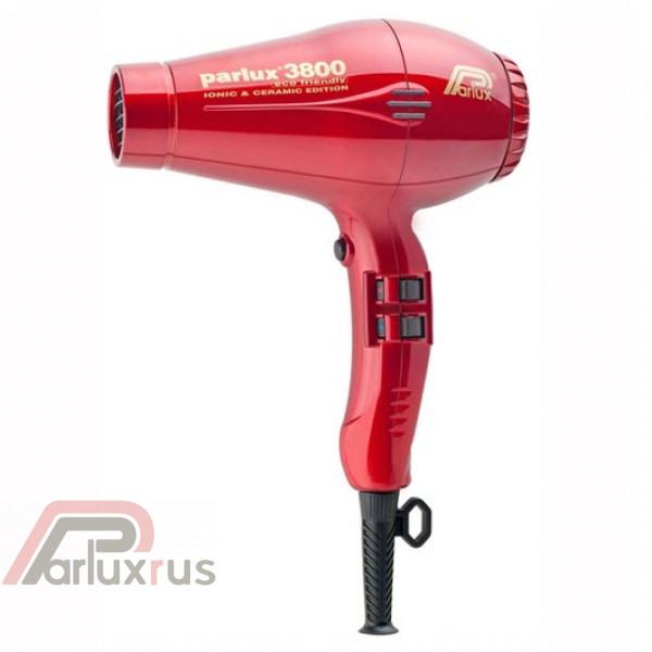 Профессиональный фен Parlux 3800 Eco Friendly 0901-3800 red