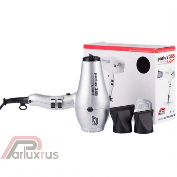 Профессиональный фен Parlux 385 Powerlight 0901-385 silver