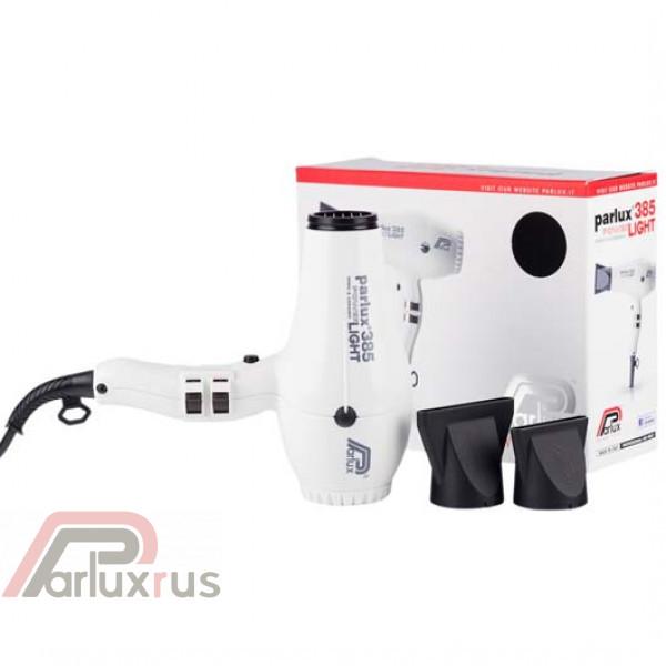 Профессиональный фен Parlux 385 Powerlight 0901-385 white